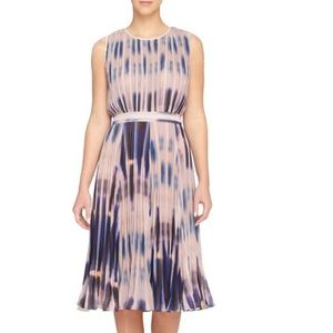 Desree pleated midi dress